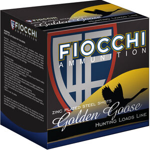 "Fiocchi EXTREMA Golden Goose 12 Gauge Ammunition 3-1/2"" BBB 1-5/8oz Steel Shot 1430fps"