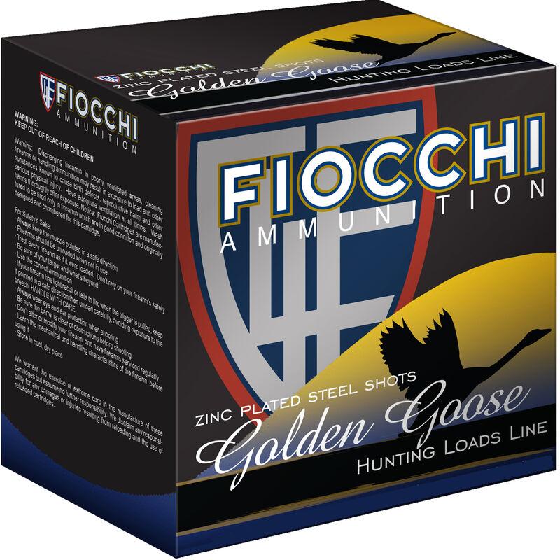 """Fiocchi EXTREMA Golden Goose 12 Gauge Ammunition 3-1/2"""" BBB 1-5/8oz Steel Shot 1430fps"""