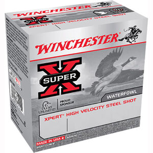 "Winchester Super X 20 Gauge Ammunition 200 Rounds 2.75"" #6 Steel WE20GTVP6"