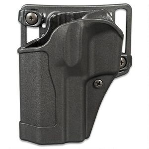 BLACKHAWK! SERPA CQC GLOCK 29/30 Belt/Paddle Outside The Waistband Holster Left Hand Polymer Matte Black Finish 410530BK-L