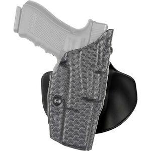 Safariland 6378 GLOCK 19/23/32 ALS Belt/Paddle Holster Right Hand Basketweave Black