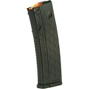 Hexmag Series 2 AR-15 Magazine w/ Extended Body 10 Rounds .223 Rem/5.56 NATO/.300 AAC Blackout PolyHex2 Advanced Composite Polymer Matte Black