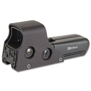 EOTech 552 Holographic Weapon Sight 65 MOA Ring/One MOA Dot NV Compatible Mode Standard Screw Mount AA Batteries Picatinny Black 552.A65