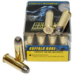 Buffalo Bore .44-40 Winchester Ammunition 20 Rounds HC 200 Grains