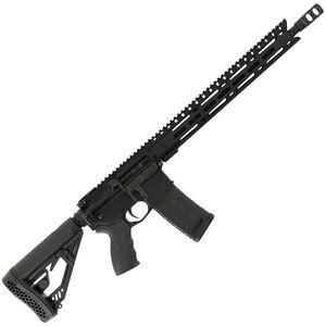 "Diamondback Firearms DB15E AR-15 Semi Auto Rifle .300 BLK 30 Rounds 16"" Barrel M-LOK Handguard Collapsible Stock Black"