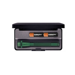 Maglite Mini Mag AA Presentation Box 14 Lumens 2x AA Batteries Green