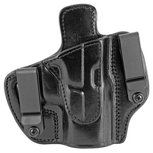 Tagua Gunleather Crusader TX-DCH IWB Holster Fits GLOCK 17/22/31 Models Right Hand Draw Open Top Leather Black