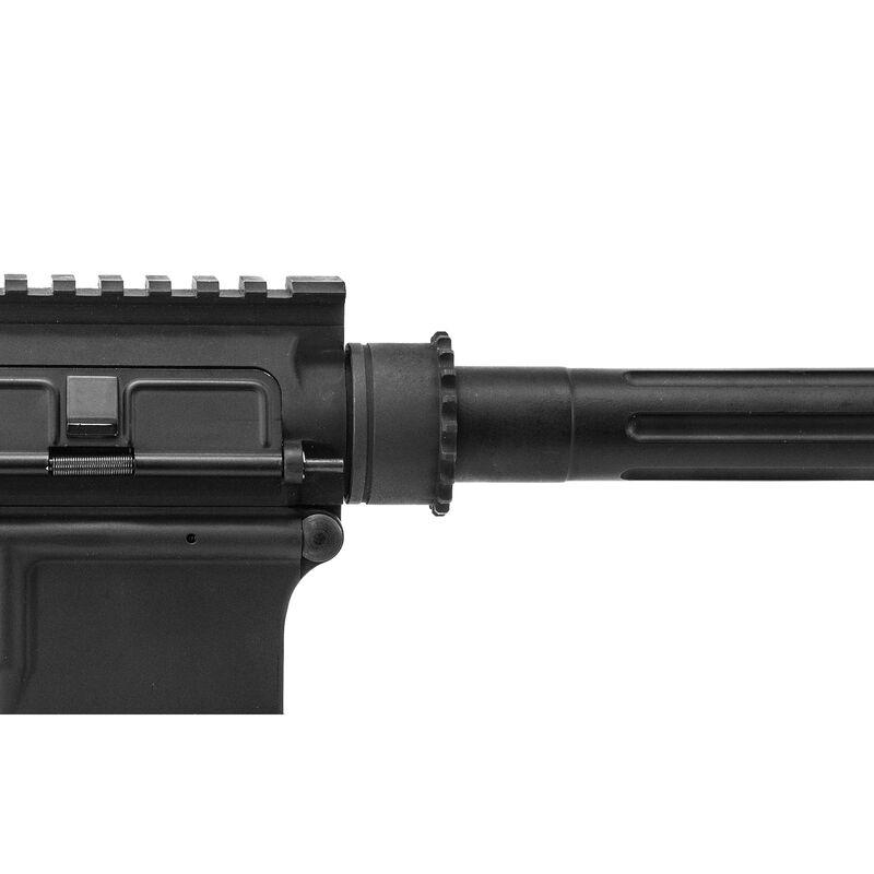 UTG Standard AR-15 Steel Barrel Nut, Black Phosphate