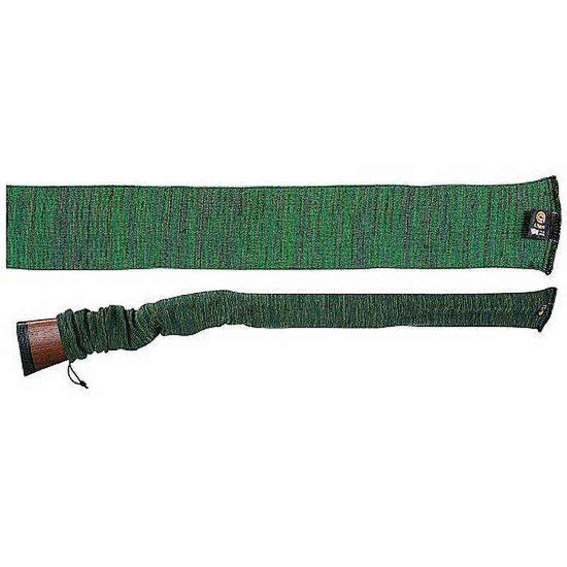 "Allen Company Knit Gun Sock 52"" Green with Drawstring"