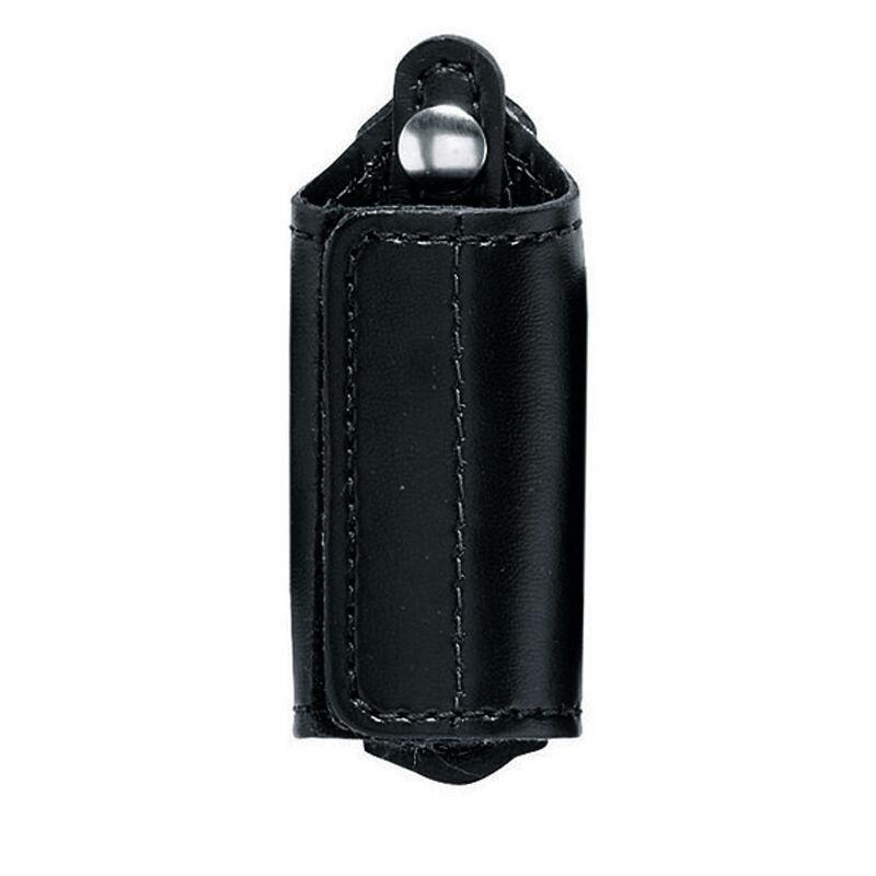 Safariland Model 170 Silent Key Holder Brass Snap SafariLaminate Basketweave Black