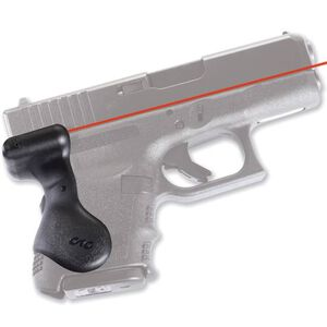 Crimson Trace Lasergrip For GLOCK GEN3 26, 27, 28, 33, 39 Rubber Black LG-626
