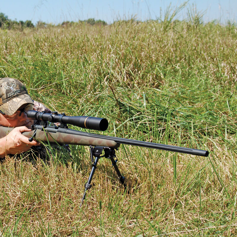 """Caldwell XLA Pivoting Bipod 13"""" to 23"""" Height Forend Protection Pad Spring Loaded Legs"""