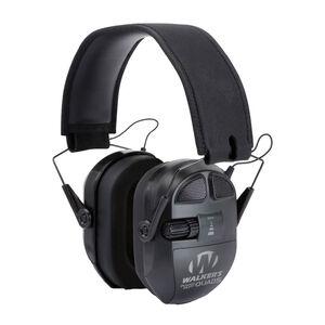 Walkers Game Ear Ultimate Quad Power Muff NRR 27 dB Folding Design Black GWPXPMQB