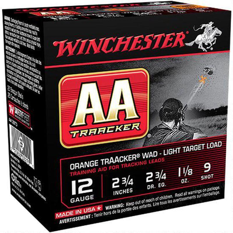 """Winchester 12 Gauge Ammunition 250 Rounds 2.75"""" TrAAcker #9 Lead Shot"""