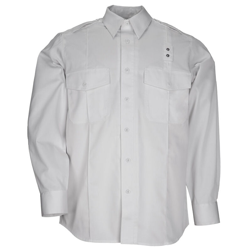 5.11 Tactical Men's Twill Class A Long Sleeve Shirt Extra Large/Tall Midnight Navy 72344