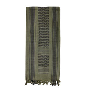 Fox Outdoor Tactical Shemagh OD Green and Black 79-110