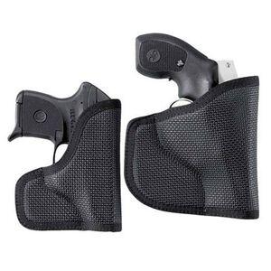 DeSantis N38 Glock 26, 27, 33, 39, Keltec P11, Walther PPS/PK380, Taurus 709 The Nemesis Pocket Holster Ambidextrous Nylon Black