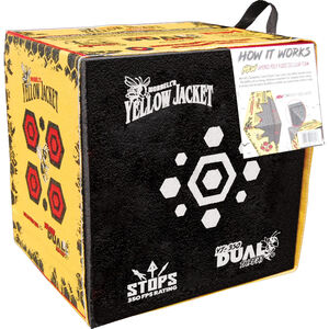 Morrell Targets Yellow Jacket YJ-350 Dual Threat Archery Target Black/Red/Yellow