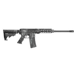 "Rock River Arms LAR-15 Tac-Black RRAGE Carbine AR-15 5.56 Semi Auto Rifle 16"" Barrel 30 Round Magazine Veil Tac-Black Camo DS1850T"