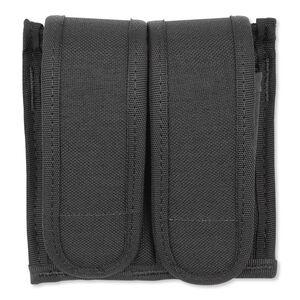 BLACKHAWK! Universal Double Pistol Mag Case Black Mounts Horizontally Or Vertically 44A054BK