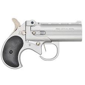 """Bearman Industries Long Bore Derringer With Guardian .38 Spl 3.5"""" Barrel 2 Rounds Satin Finish Synthetic Grips"""
