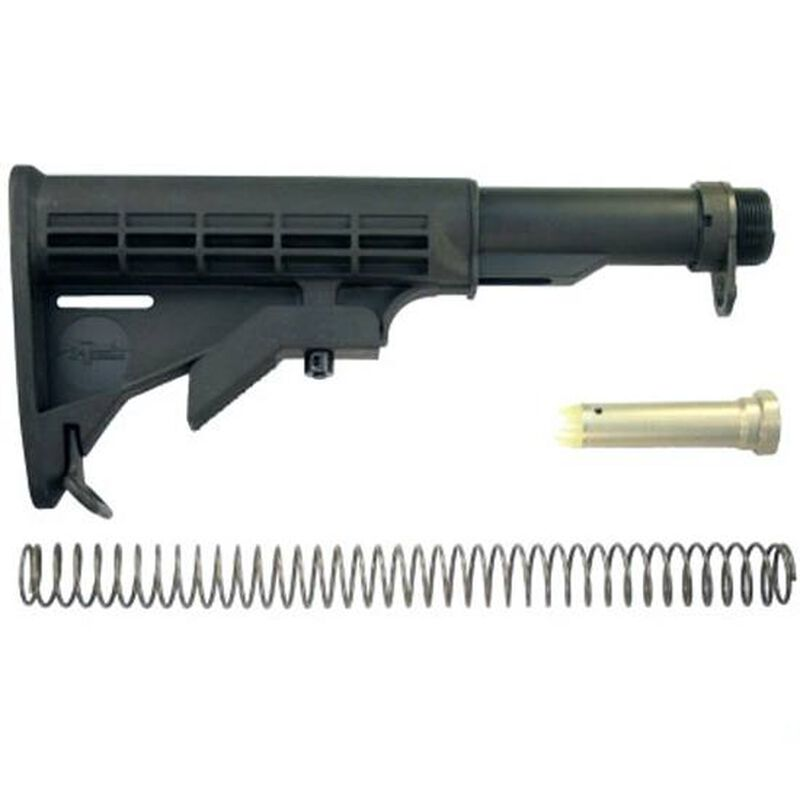 CMMG Inc. AR-15 Receiver Extension and Stock Complete Kit Carbine Length Black 55CA634