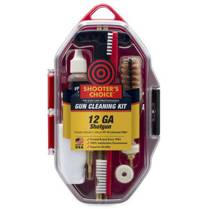 Shooters Choice Shotgun Cleaning Kit 12 Gauge