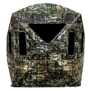 "Primos Hunting Double Bull Surroundview 180 Degree Ground Blind 48"" x 48"" x 65"" Polyester Truth Camouflage"