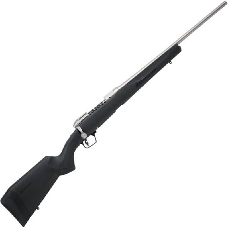"Savage 110 Lightweight Storm Bolt Action Rifle 7mm-08 Rem 20"" Barrel 4 Rounds Spiral Fluted Bolt Synthetic Stock Stainless Steel Finish"