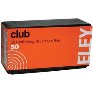 Eley Club .22 Long Rifle LRN, 40 Grain 50 Round Box
