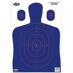 "Birchwood Casey Dirty Bird ""BC-27"" Silhouette Paper Target 16.5""x24"" Blue 100 Pack"