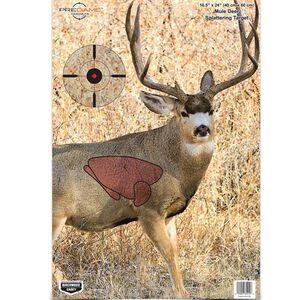 """Birchwood Casey Pregame Mule Deer Target 16.5""""x24"""" 3 Pack 35402"""