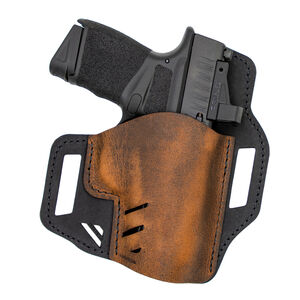 VersaCarry Rough Rider OWB Size 365 Holster Right Hand Leather Brown