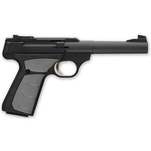 "Browning Buckmark Camper UFX Semi Auto Pistol .22 LR 5.5"" Tapered Bull Barrel 10 Rounds Synthetic Grips Blued 051498490"