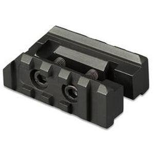 TuffZone AR-15 Front Sight Base Accessory Rails Two Piece Aluminum Black TZ-MR5F