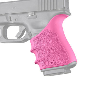 Hogue HandAll Beavertail Grip Sleeve Fits Glock 19/23/32/38 Gen 3-4 Pink