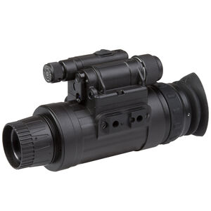 AGM Global Vision WOLF-14 NW2 Night Vision Monocular Generation 2+ White 1x Magnification 27mm Lens Black