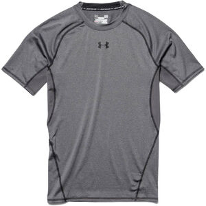 Under Armour Performance Men's HeatGear Short Sleeve Compression Shirt Large Navy 1257468410LG