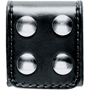 Safariland 654 Slotted Belt Keeper Brass Snaps SafariLaminate Hi-Gloss Black