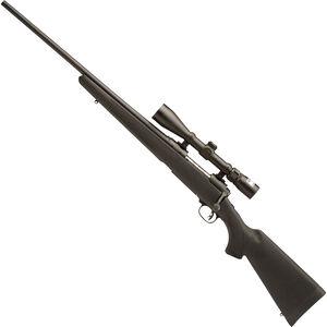 "Savage 11 Trophy Hunter XP Bolt-Action Rifle, 7mm-08 Rem, Left Hand, 22"" Barrel, 4 Rounds, Black Synthetic Stock, Matte Black Finish, includes Nikon 3-9x40 Scope 19698"