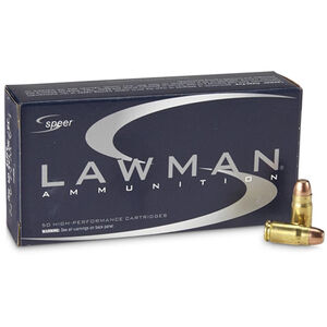 Speer Lawman .357 SIG Ammunition 1,000 Rounds TMJ 125 Grains 53919