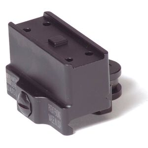 American Defense MFG Aimpoint T1/T2/H1 Micro Mount Co-Witness Height QD Auto Lock Lever Aluminum Black