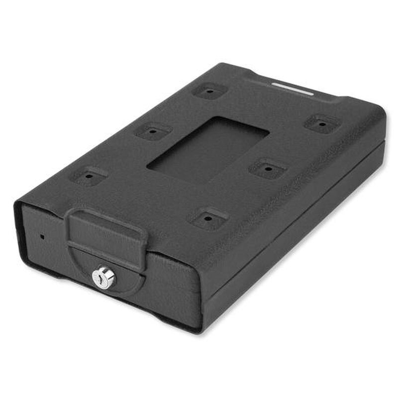 "Bulldog Car Vault Keyed Lock Security Cable 10.75""x6.5"" Steel Matte Black BD1150"