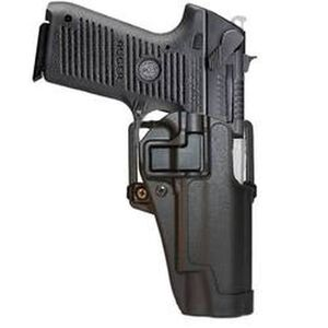 BLACKHAWK! SERPA CQC Concealment OWB Paddle/Belt Loop Holster Ruger P95 Right Hand Polymer Matte Black Finish
