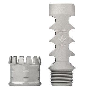 Aero Precision VG6 Lambda PRS30 Muzzle Brake .30 Caliber Compatible 5/8x24 Right Hand 17-4PH Stainless Steel Bead Blasted Finish