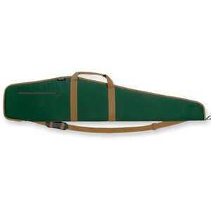 "Bulldog Scoped Rifle Case 48"" Nylon Green with Tan Trim"