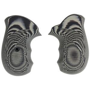 Pachmayr Dominator Ruger SP101 Grips G10 Checkered Grey/Black