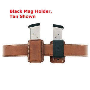 Galco QMC Quick Magazine Carrier for GLOCK 36, XD45, HK45, Black Leather