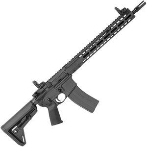 "Barrett REC7 DI AR-15 Semi Auto Rifle .300 BLK 16"" Barrel 30 Round Magazine Gas Impingement System Enhanced M-LOK Hand Guard 6-Position Stock Cerakote Black Finish"