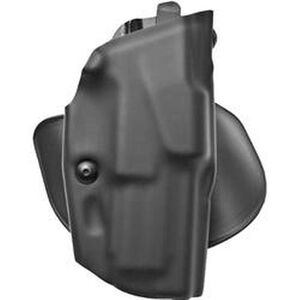 """Safariland 6378 ALS Paddle Holster Right Hand H&K USP 9mm/.40S&W with 4.13"""" Barrel STX Plain Finish Black 6378-91-411"""